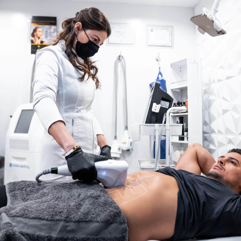 Men Body Acne